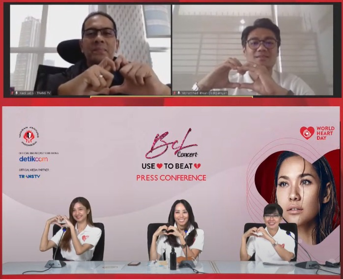 Foto Press Conference Wolrd Heart Day